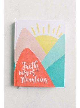 Inspirational Journal - Faith Mountains