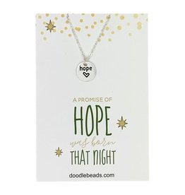 Promise of Hope Necklace Gold.