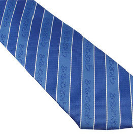 Tie, Boys GR82B8 Blue Adjustable Clip