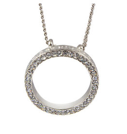 Necklace,Ctr Circle