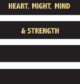 Heart, Might, Mind & Strength: A Journal for Sister Missionaries - Hardback