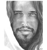 Christ Portrait print by Jenny Fowler