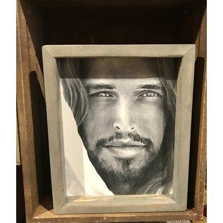 Jenny Fowler - Artist 8x10 FRAMED - Christ Portrait By Jenny Fowler