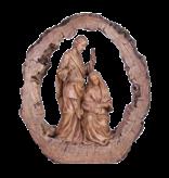 Bronzed Holy Family Nativity byMelrose 11 inch