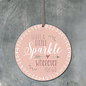 EastOfIndia 885 -Round sign-Leave a little sparkle