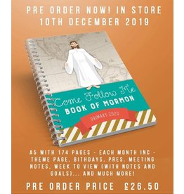 ***CLEARANCE*** Come Follow Me Primary Planner (Book Of Mormon)