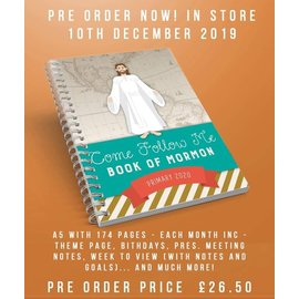 Licenced Products LDSBOOKUK Come Follow Me Primary Planner (Book Of Mormon)