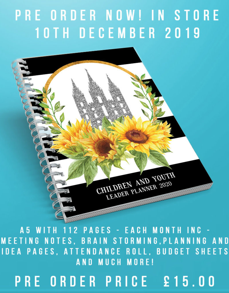 Etsy - Becky Florence Children and  Youth Leader Planner 2020