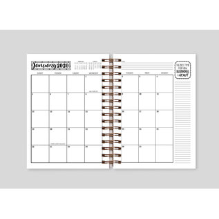 Licenced Products LDSBOOKUK NEW 2020 Latter-Day Lifestyle Planner
