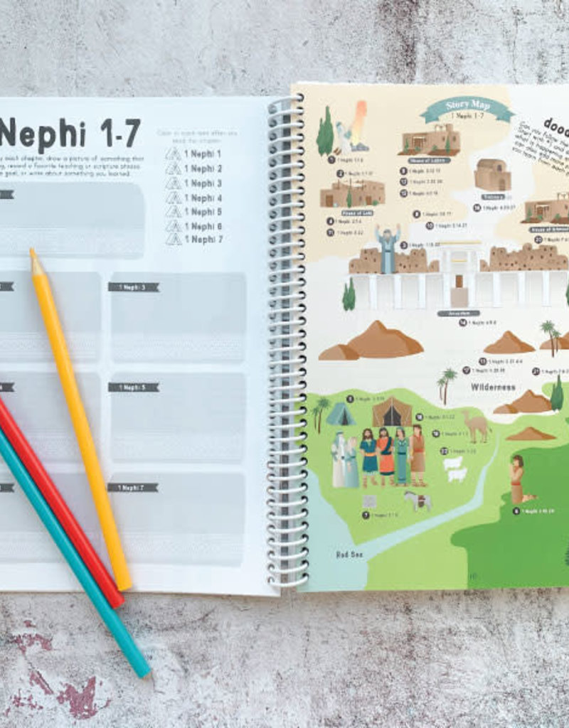 Red Headed Hostess Book of Mormon Study Guide (NEW 2020) – for Kids and Youth