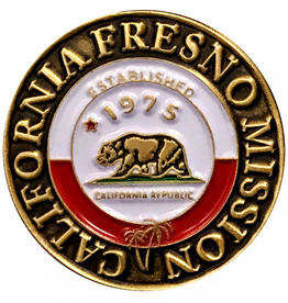 Bennet Brands California Fresno Mission - Lapel Pin