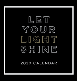 Let Your Light Shine 2020 Calendar by Teresa Collins