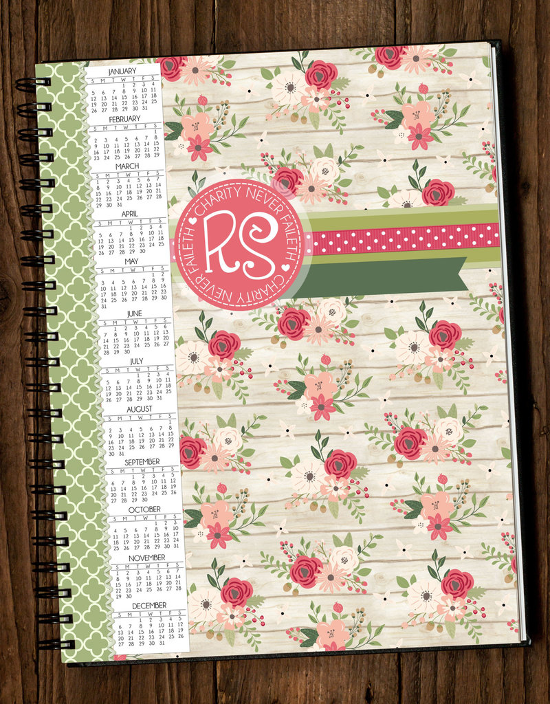 Etsy - Computer is my Canvas Relief Society Planner 2020