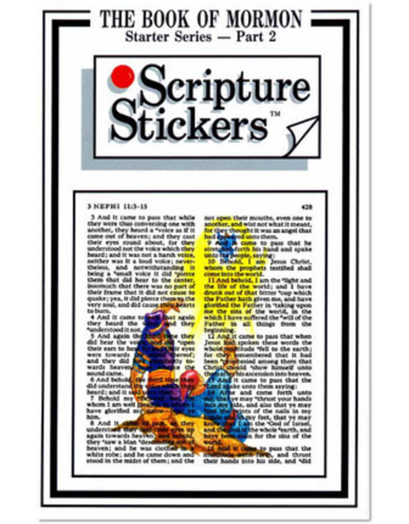 Scripture Stickers Book of Mormon Part two