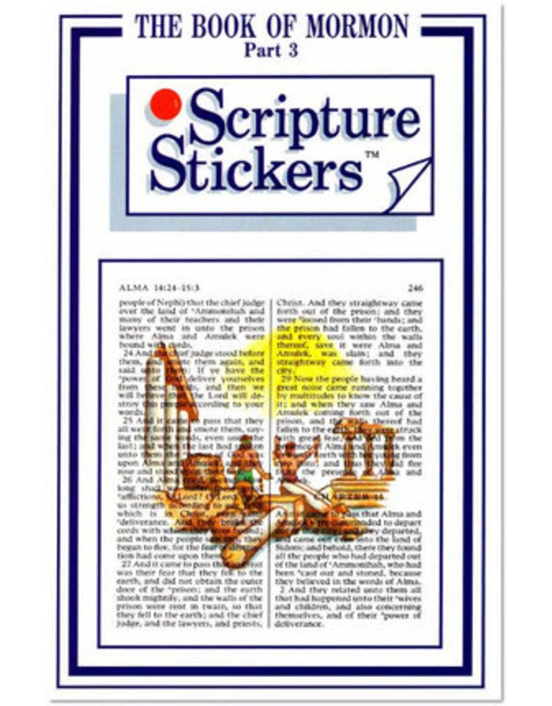 Scripture Stickers Book of Mormon Part three