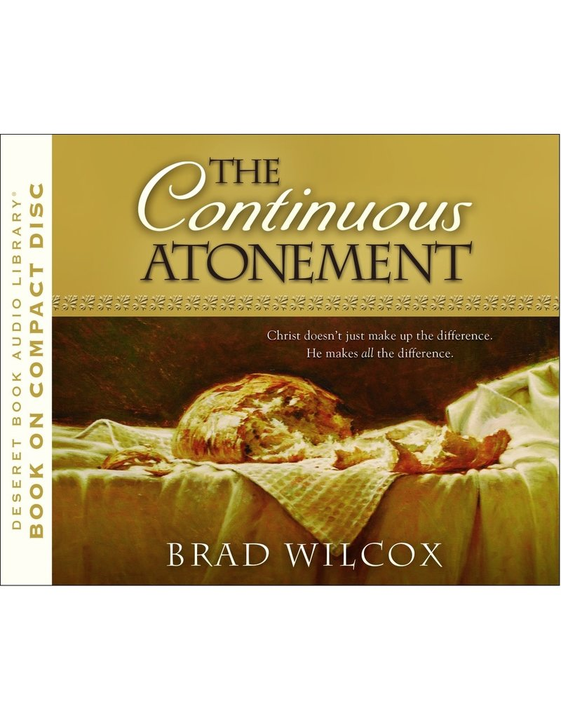 Continuous Atonement, The, by Wilcox (Audiobook CD)