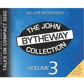 Deseret Book Company (DB) John Bytheway Collection, Vol. 3 CD (includes DVD)