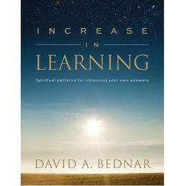 Deseret Book Company (DB) Increase in Learning by David A. Bednar