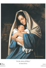 """Altus fine art In the arms of Mary. 8""""x10"""" print"""