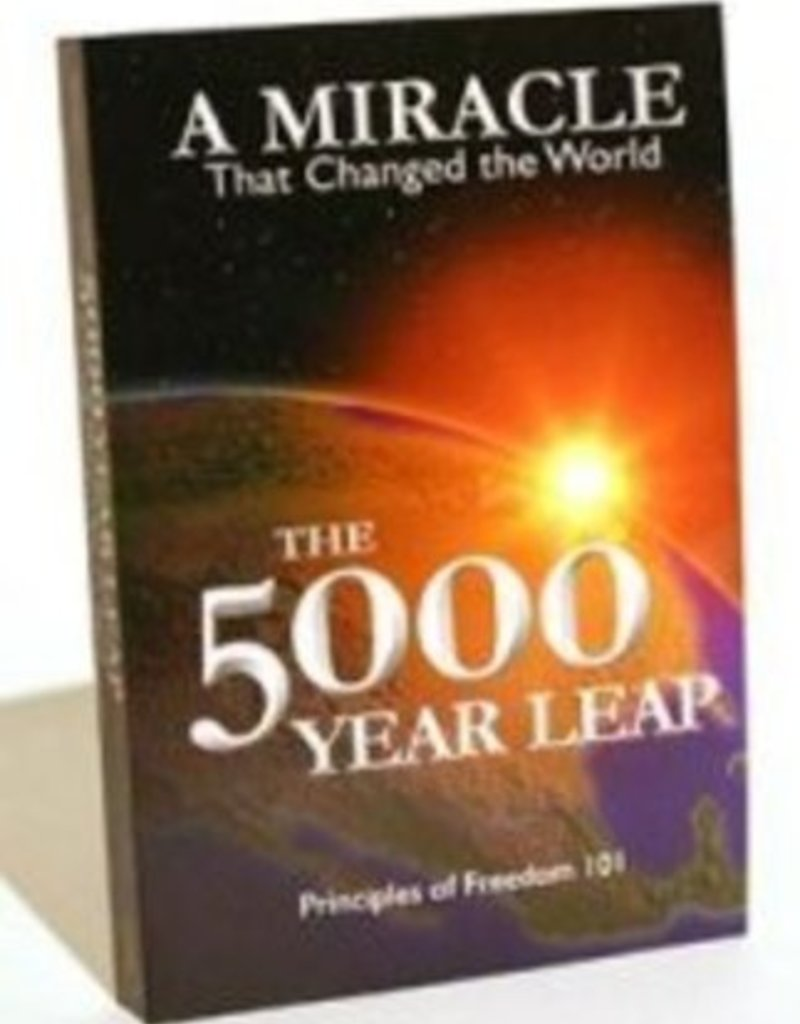The Five Thousand year leap by Skousen