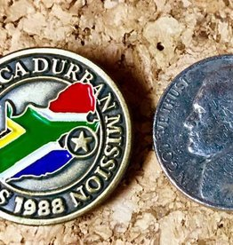 Bennet Brands Durban South Africa Mission - Lapel Pin