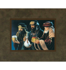 We Three Kings by Simon Dewey 10x8 Mat