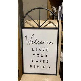 Seagull Books Welcome, Leave Your Cares Behind