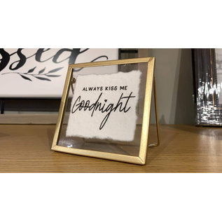 Seagull Books Always Kiss Me Goodnight Frame