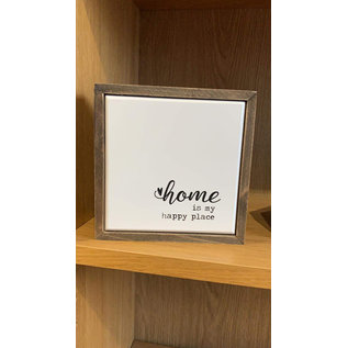 Seagull Books Home Is My Happy Place Wall Art