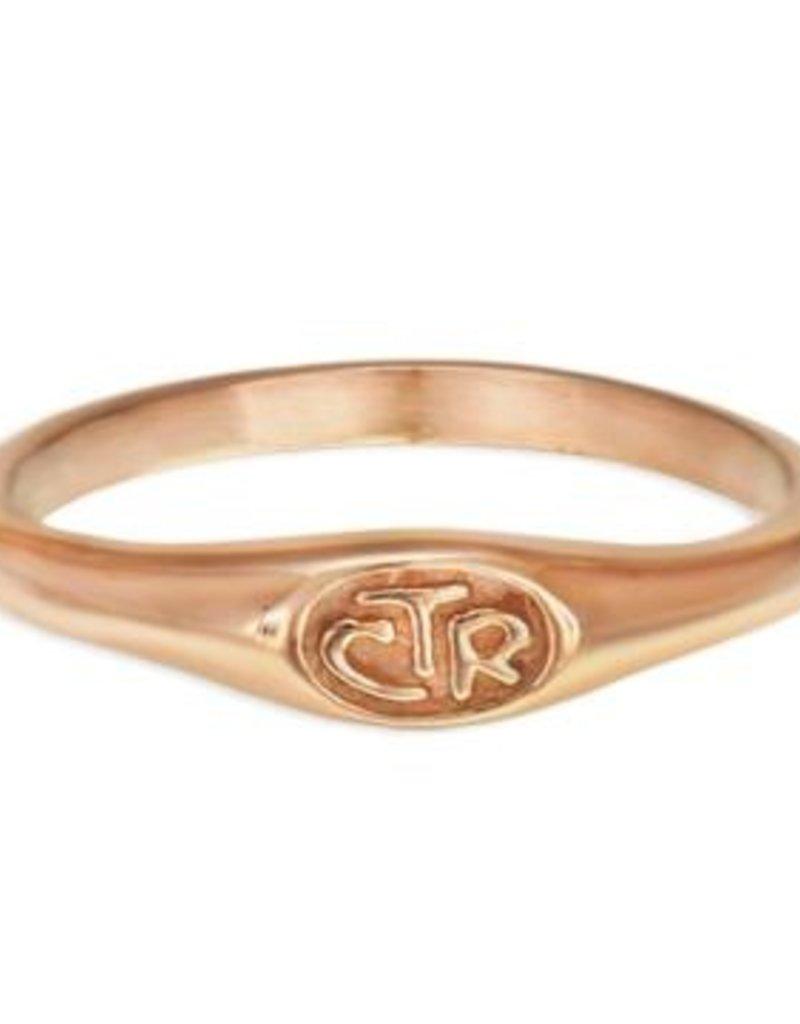 CTR MICRO MINI DESIGNER ROSE GOLD RING