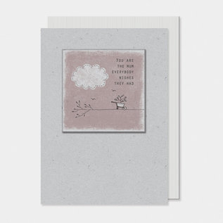 EastOfIndia 2581H Twig card-You are the mum