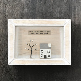 EastOfIndia 5109 Box frame-Live for the moments