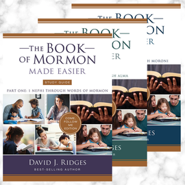 Cedar Fort Publishing NEW: The Book of Mormon Made Easier Study Guide Parts 1, 2, and 3 : Come, Follow Me Edition