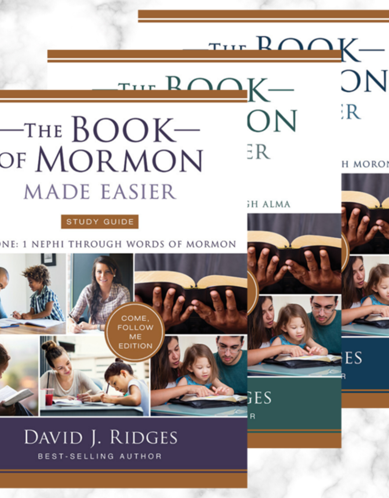 NEW: The Book of Mormon Made Easier Study Guide Parts 1, 2, and 3 : Come, Follow Me Edition