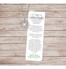 A Beloved Daughter Bookmark & Necklace