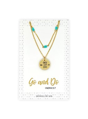 Go and Do Layered Necklace, 2020 Mutual Theme
