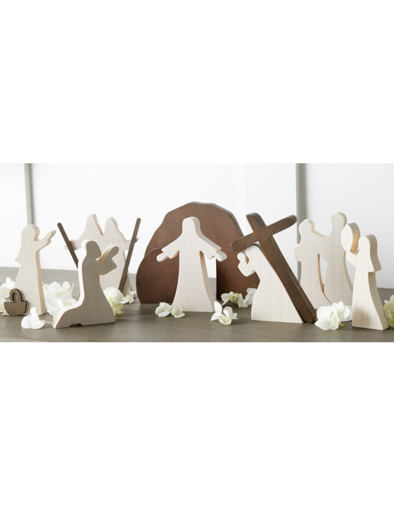 Christ-Centered Easter Creche 10-Piece Set by Emily Belle Freeman