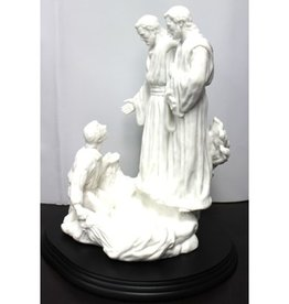 Face to Face 15 Inch Marble Statue