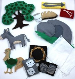 Symbols of Easter Ressurection Egg 12 pc set Quiet Bag