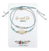 Go and Do Layered Beaded Thread Bracelet, 2020 Mutual Theme