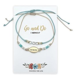 Go and Do Layered Beaded Thread Bracelet, 2020 Mutual Theme
