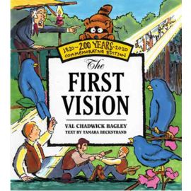 Deseret Book Company (DB) The first vision by Val Chadwick Bagley