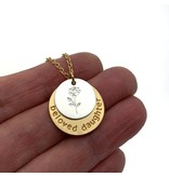 Beloved Daughter Necklace Remember Who You Are