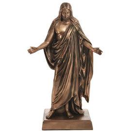 "Seagull Books 10"" Bronze-Finish Christus Statue"
