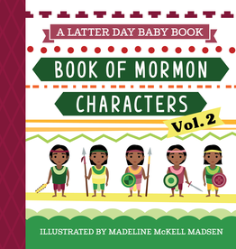 Latter Day Baby Pre Order - Book Of Mormon Characters Vol. 2 (Latter Day Baby board book)