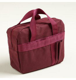 Scripture Tote Regular Burgundy Polyester