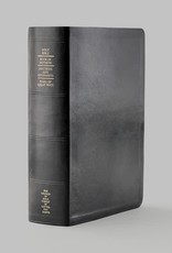 Distribution- Online Thumb-indexed Simulated Leather Quad Combination (Black with index tabs)