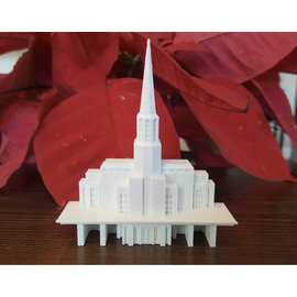 Tiny 3D Temples Preston Temple Replica Statue (Medium)