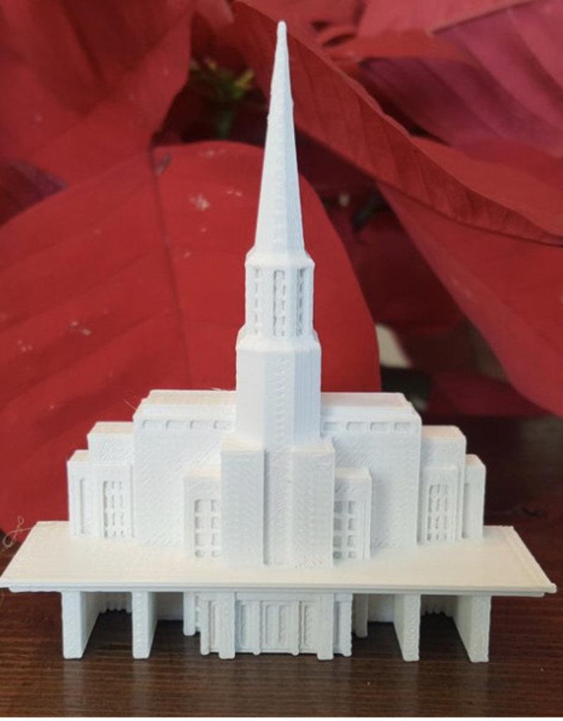 Tiny 3D Temples Preston Temple Replica Statue (Medium)
