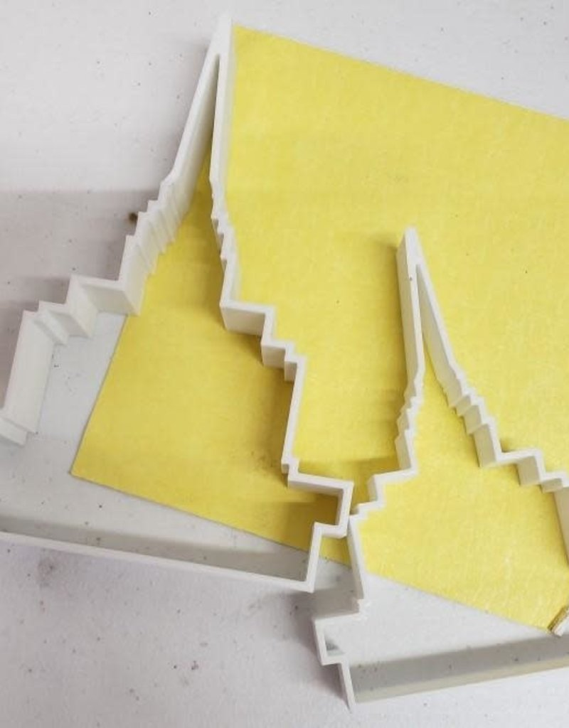 Tiny 3D Temples London Temple Cookie Cutter (Large)
